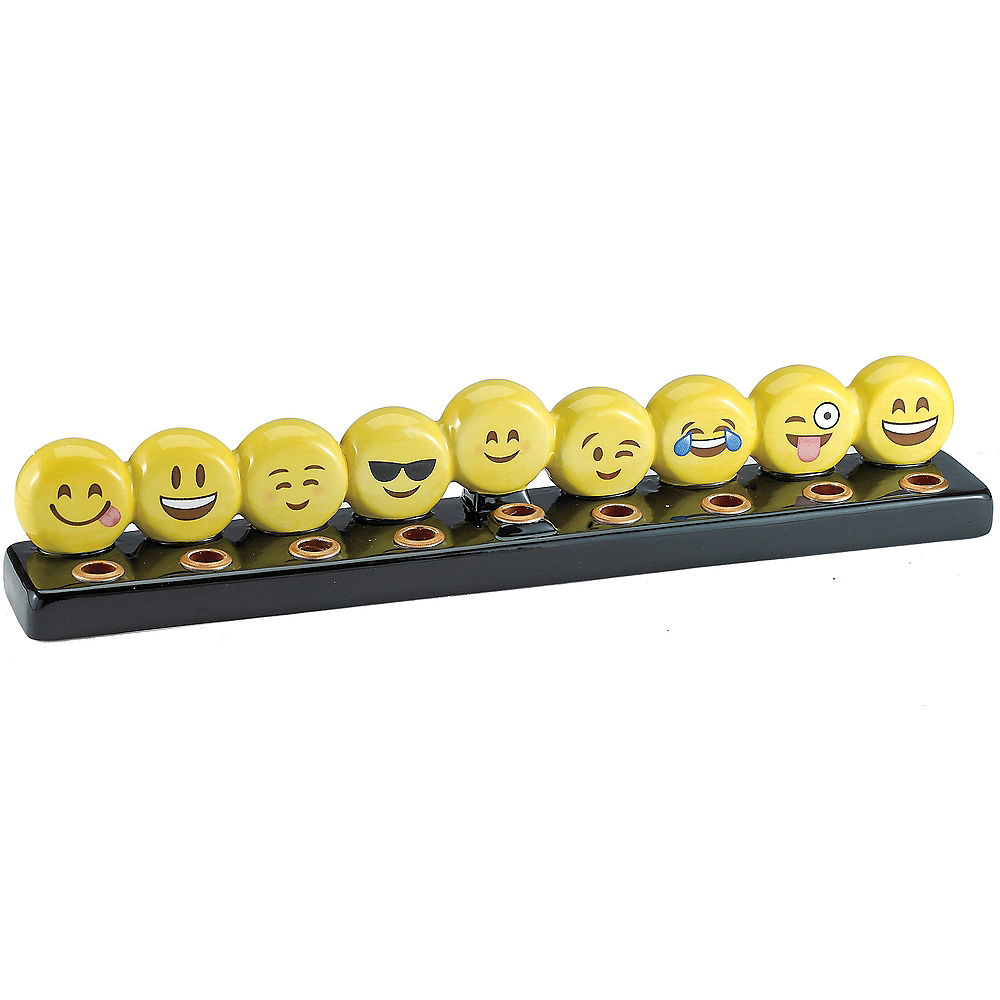 Smiley Menorah Image #1