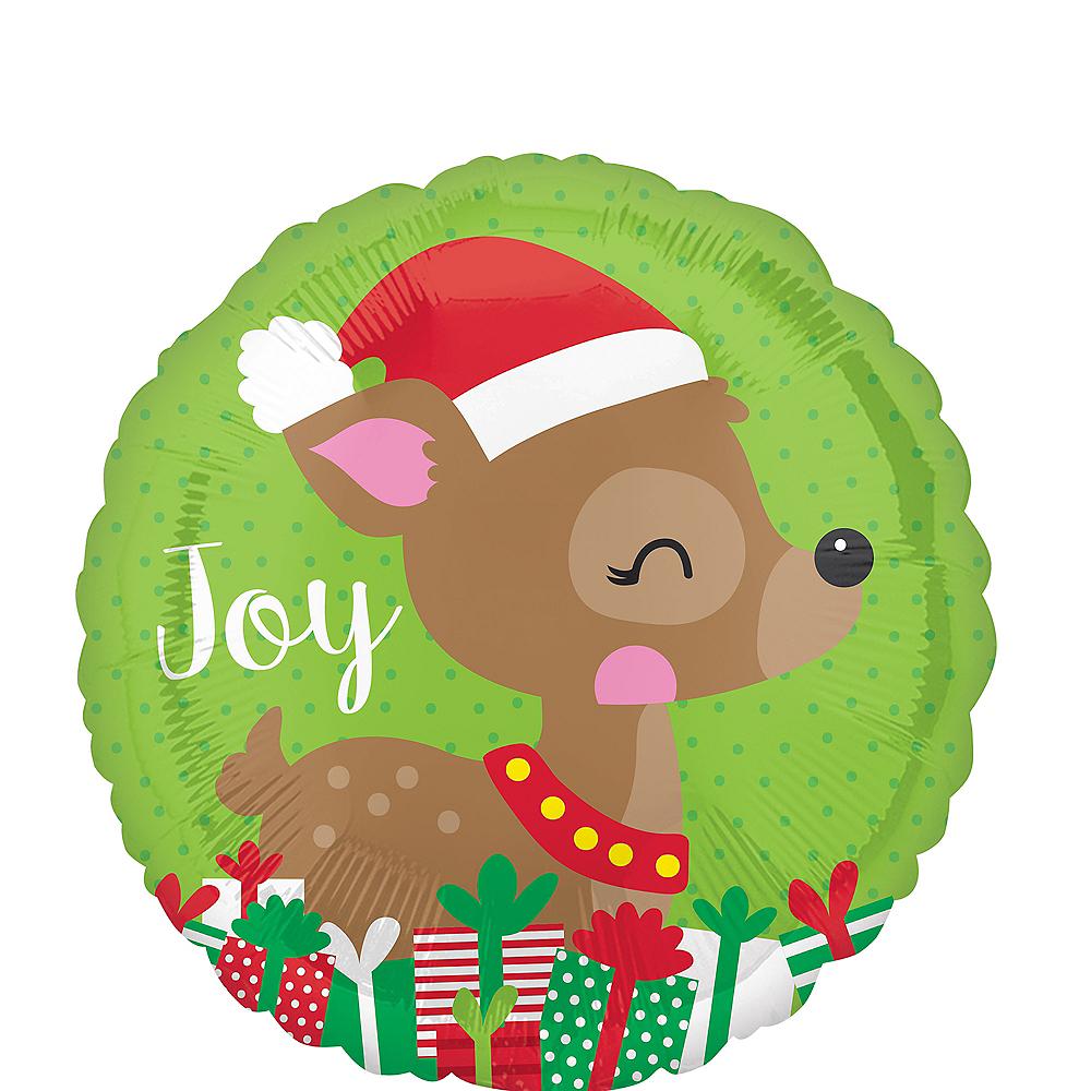 Joyful Reindeer Balloon Image #1