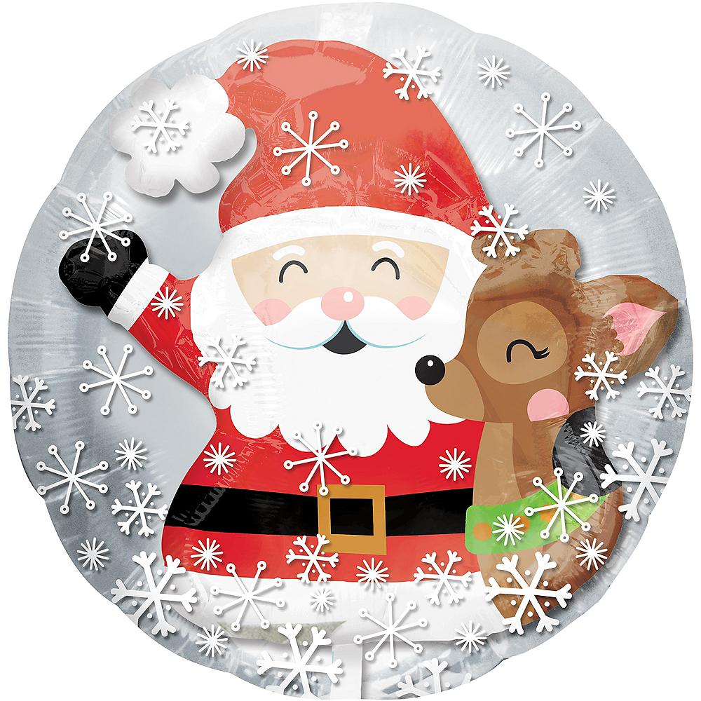 Reindeer & Santa Balloon - Insider Image #1