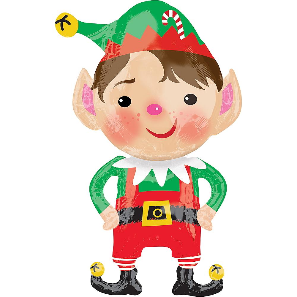 Giant Jolly Elf Balloon Image #1