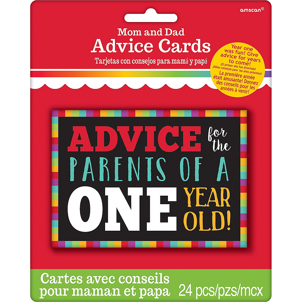 Surviving Baby's 1st Year Advice Cards 24ct Image #2