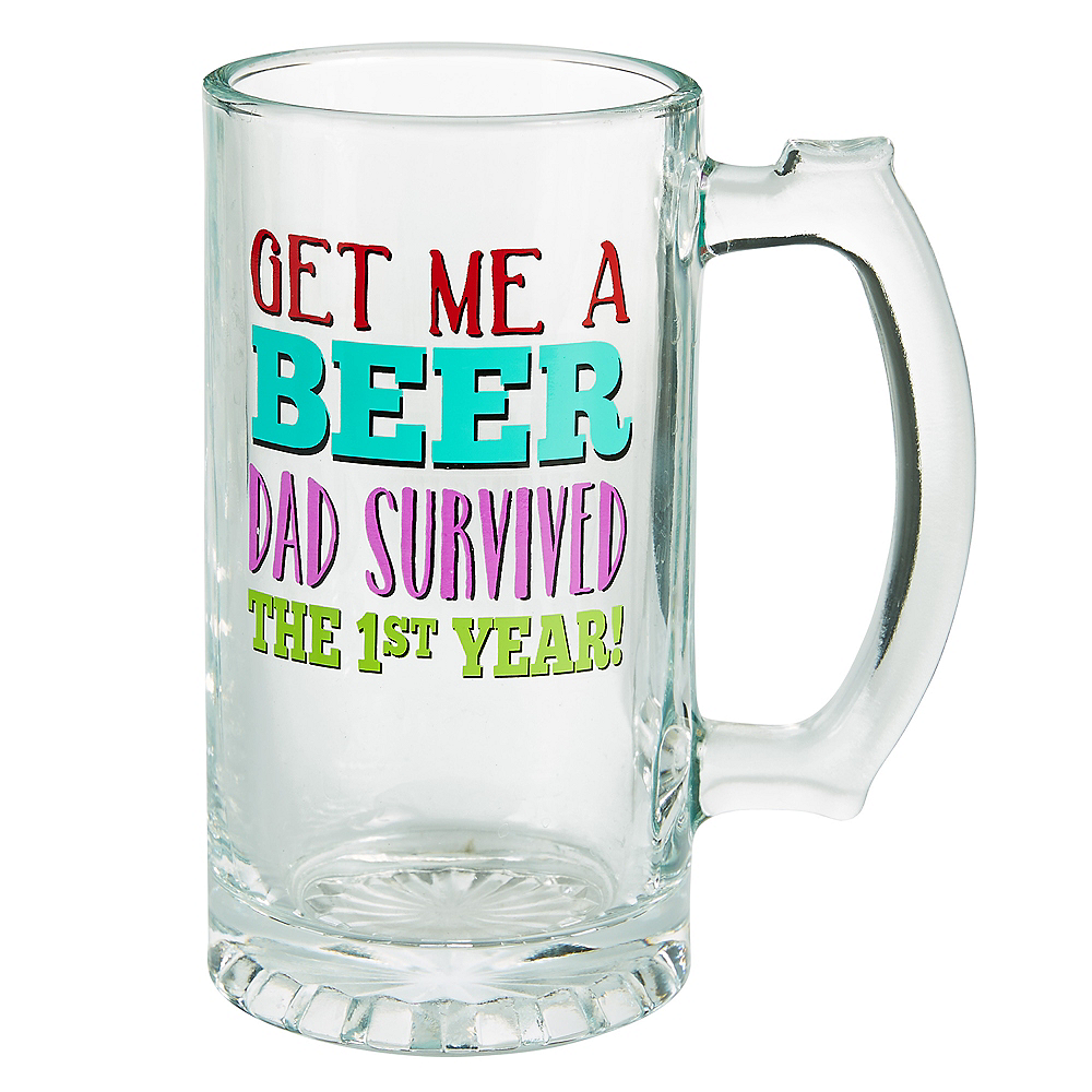 Surviving Baby's 1st Year Beer Mug Image #1