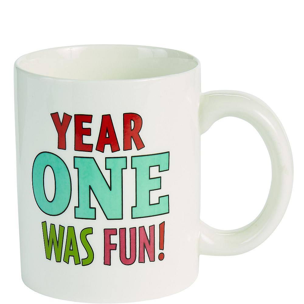 Year One Was Fun Coffee Mug Image #2