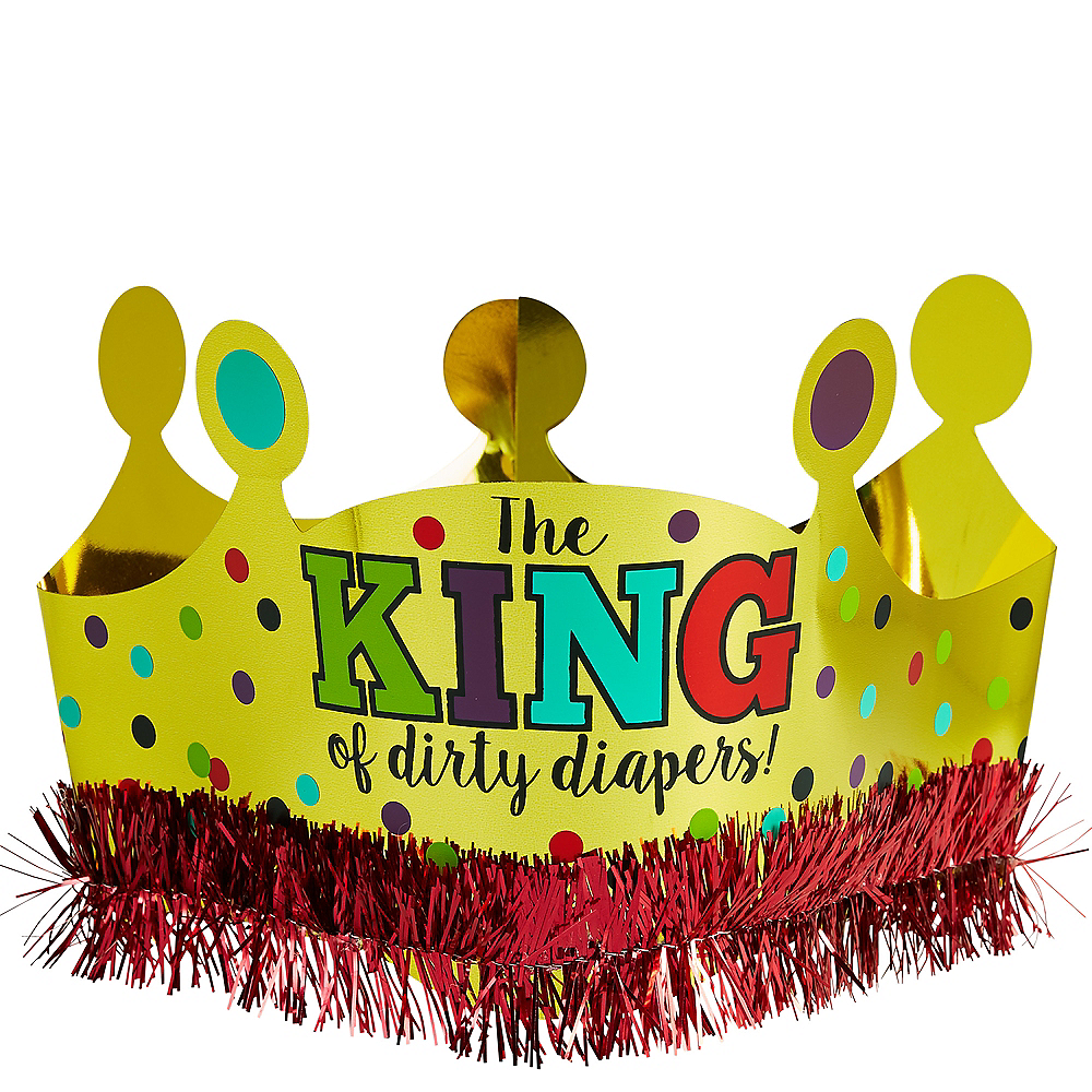 The King of Dirty Diapers Crown Image #1