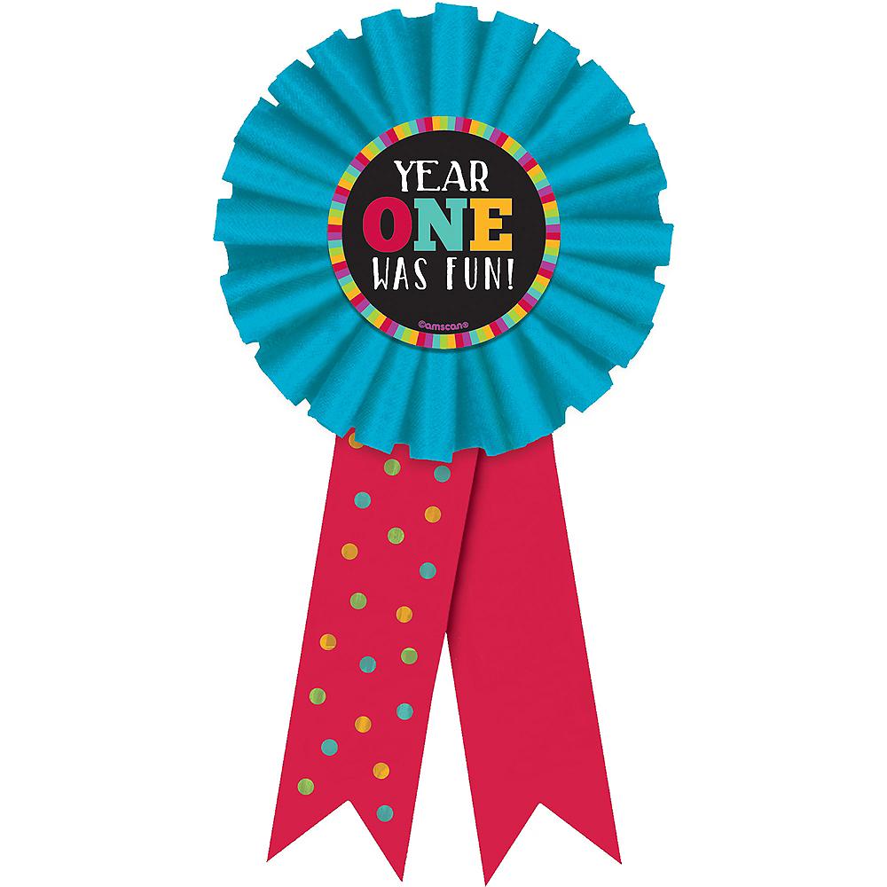 Year One Was Fun Award Ribbon Image #1