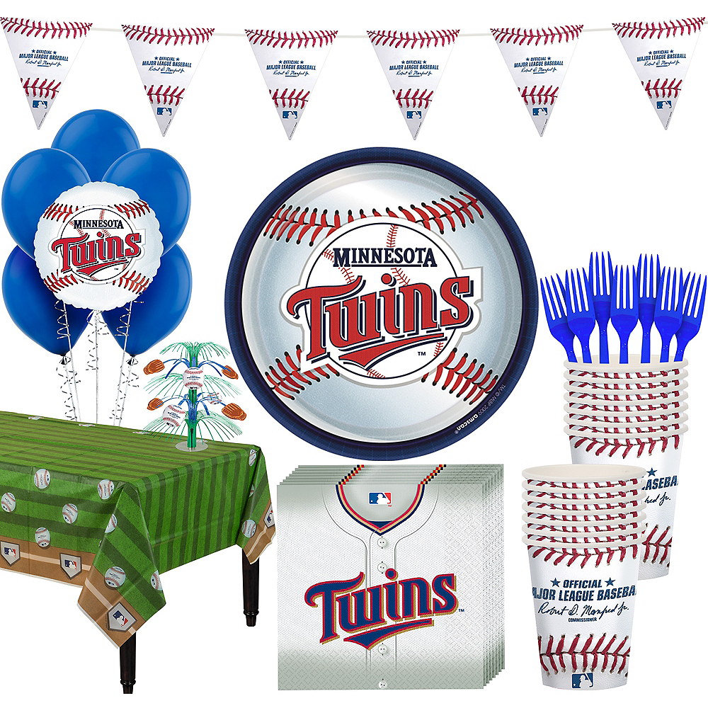 Super Minnesota Twins Party Kit for 16 Guests Image #1