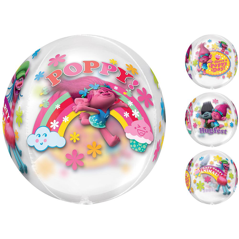 Trolls Balloon - See Thru Orbz Image #1
