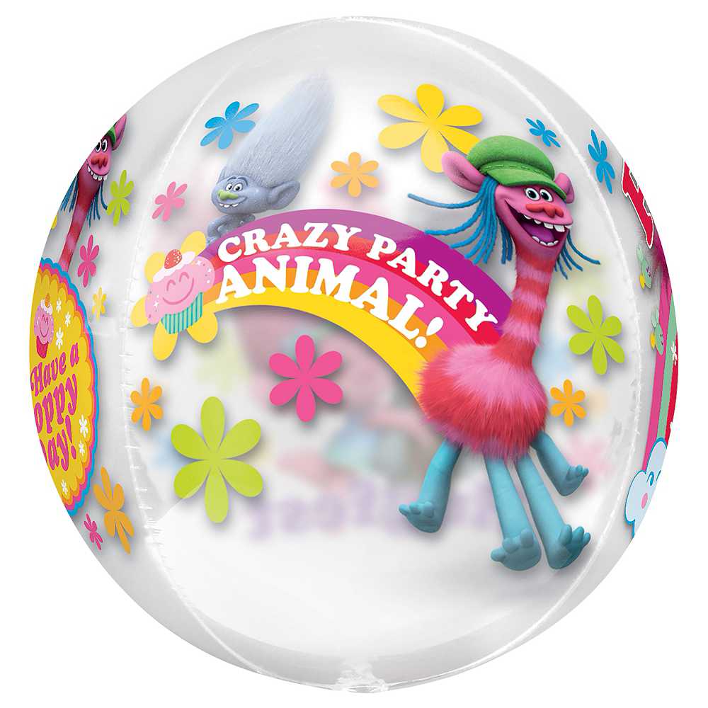 Nav Item for Trolls Balloon - See Thru Orbz Image #4