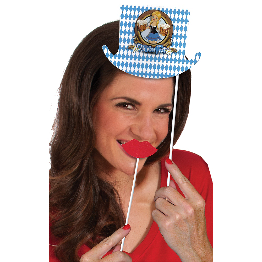 Oktoberfest Photo Booth Props 10ct Image #4