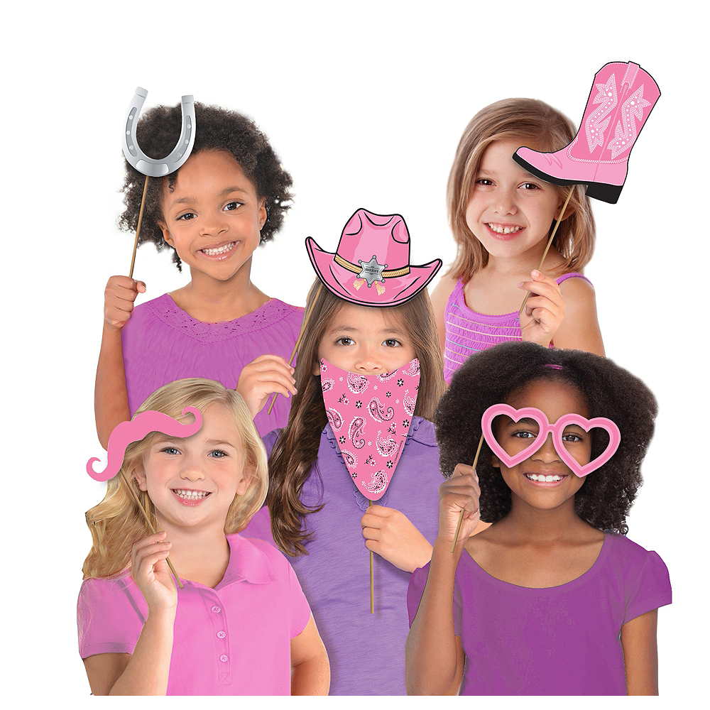 Cowgirl Photo Booth Props 10ct | Party City