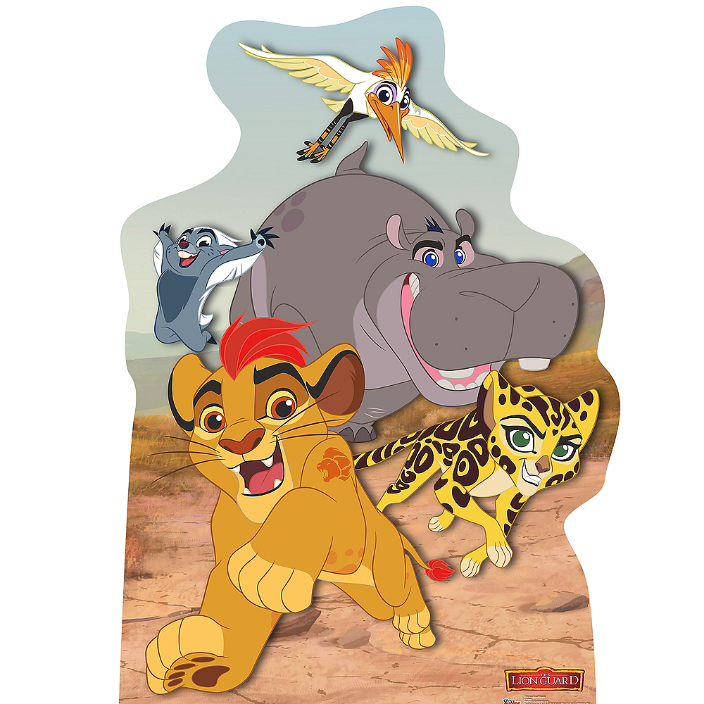 Kion & Friends Life-Size Cardboard Cutout - Lion Guard Image #1