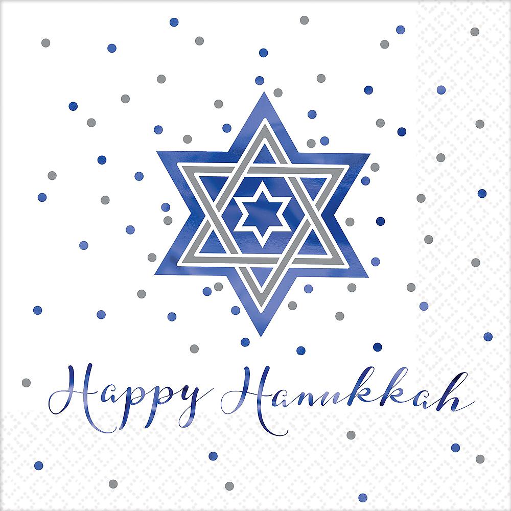 Happy Hanukkah Dinner Napkins 16ct Image #1