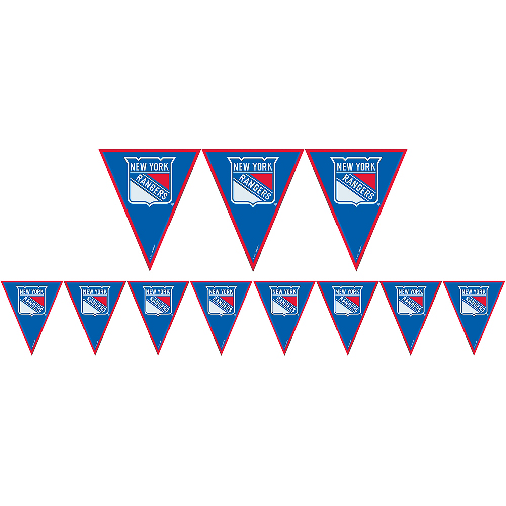 Nav Item for New York Rangers Pennant Banner Image #1