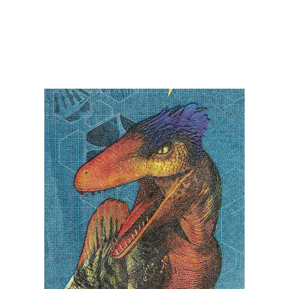 Jurassic World Beverage Napkins 16ct Image #1