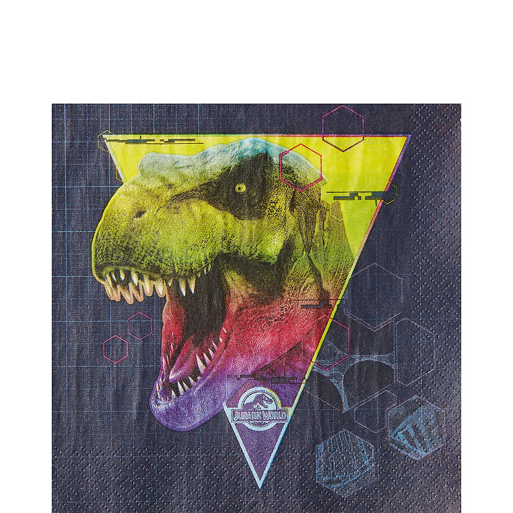 Jurassic World Lunch Napkins 16ct Image #1