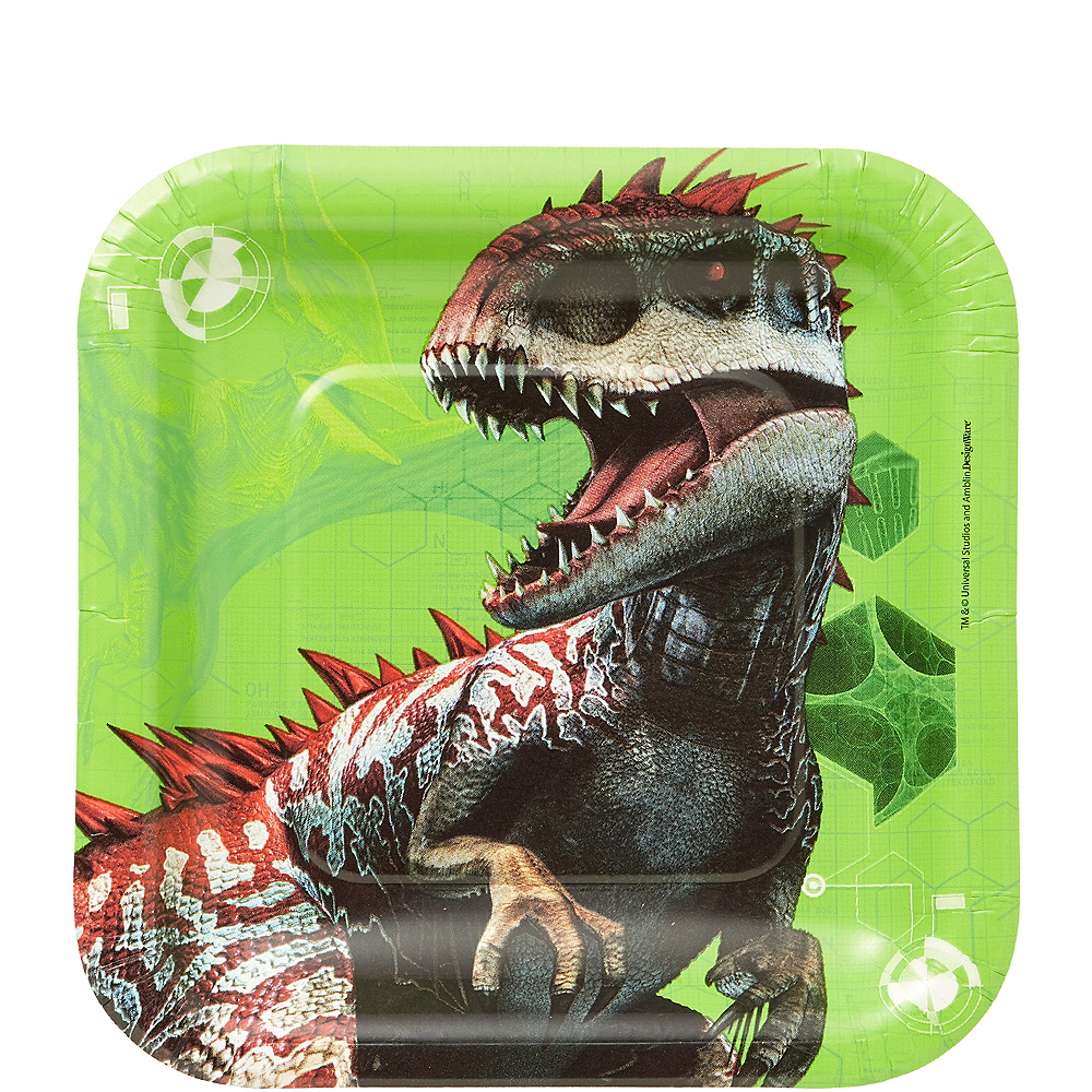 Nav Item for Jurassic World Dessert Plates 8ct Image #1