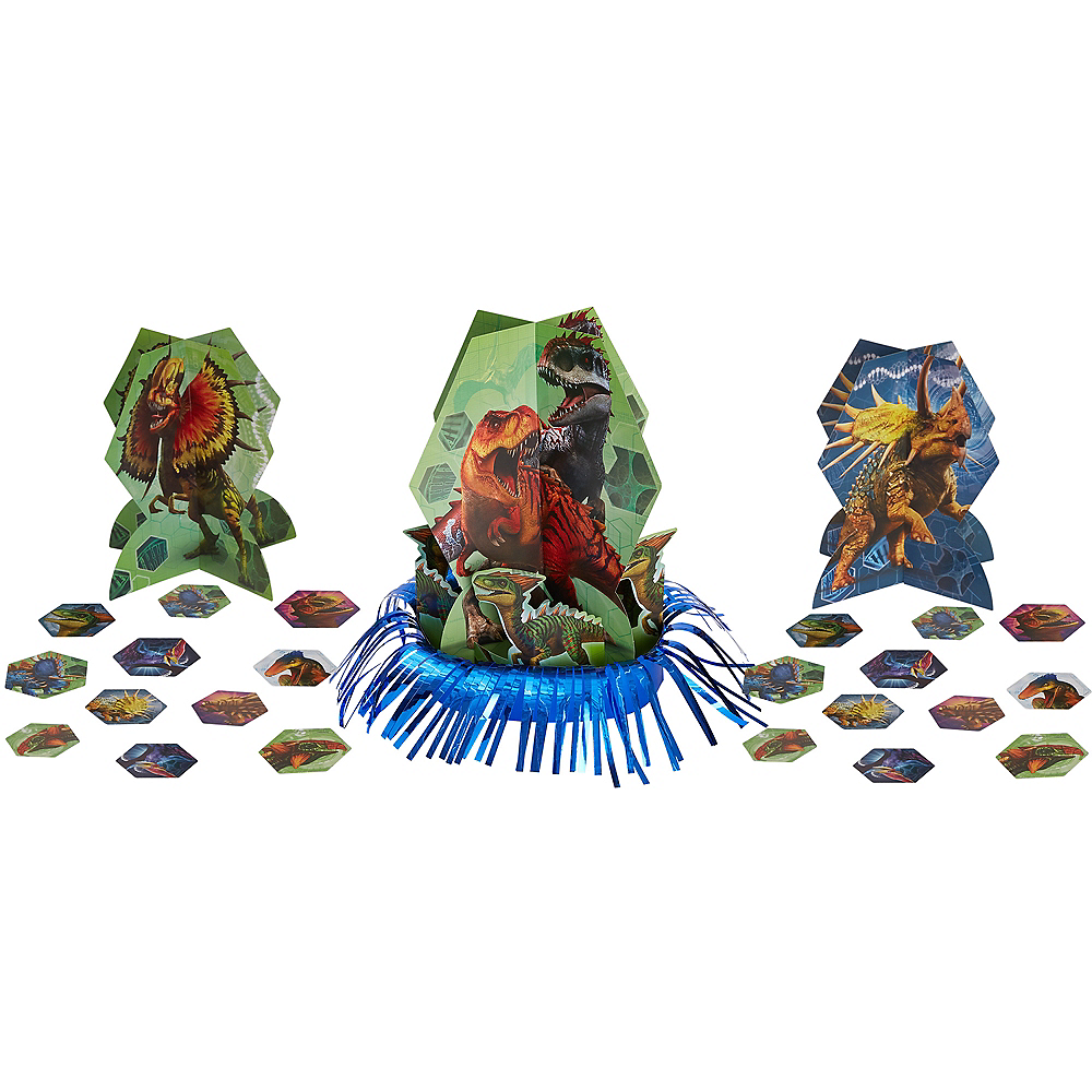 Jurassic World Table Decorating Kit 23pc Image #1