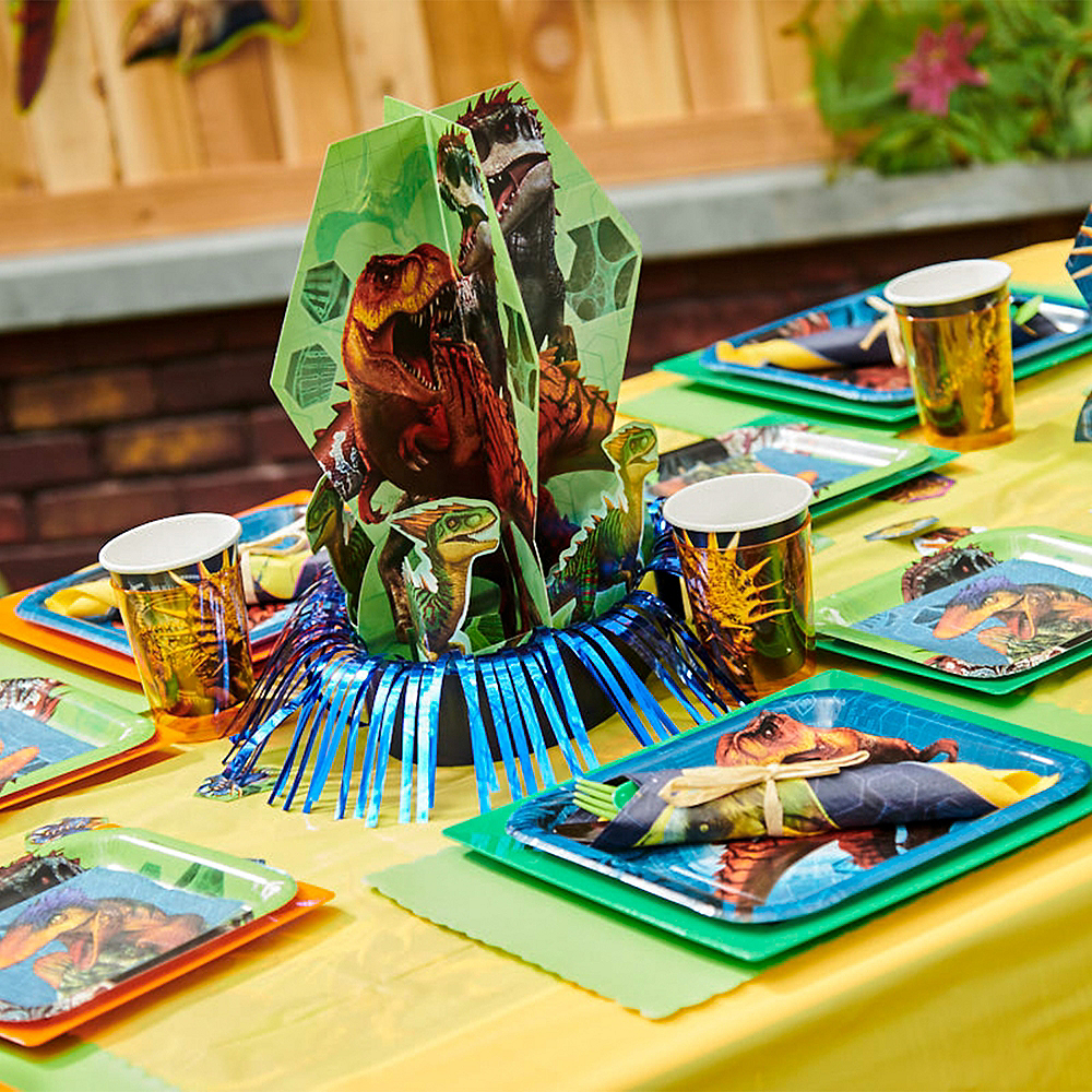 Nav Item for Jurassic World Table Decorating Kit 23pc Image #2