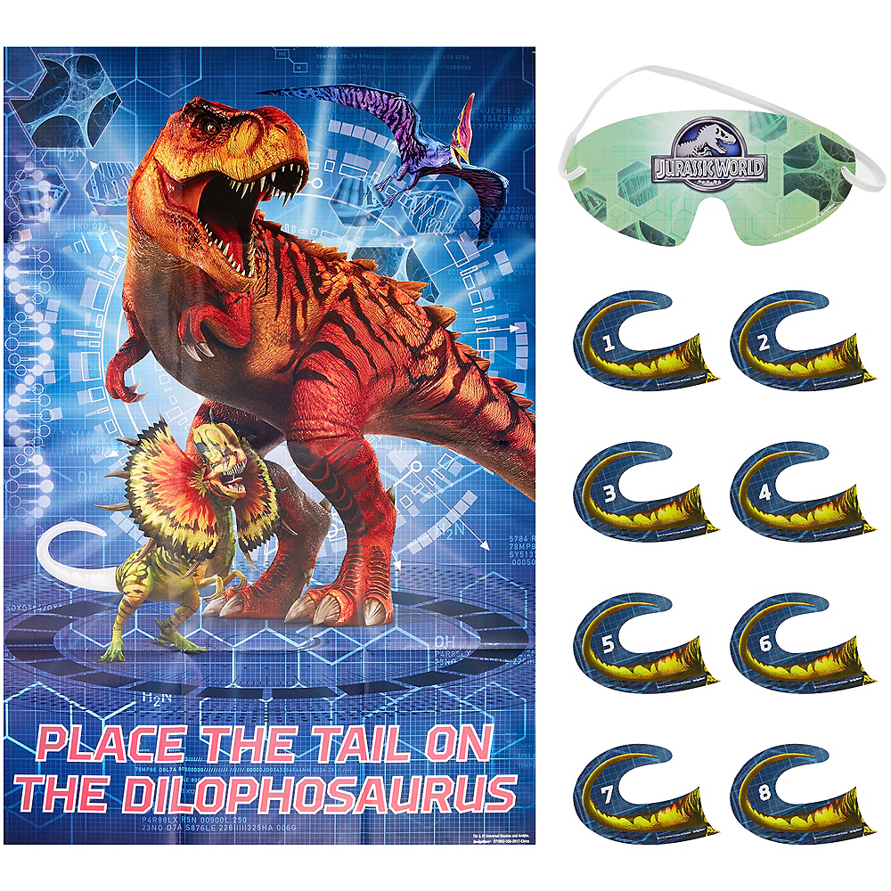Nav Item for Jurassic World Party Game Image #1