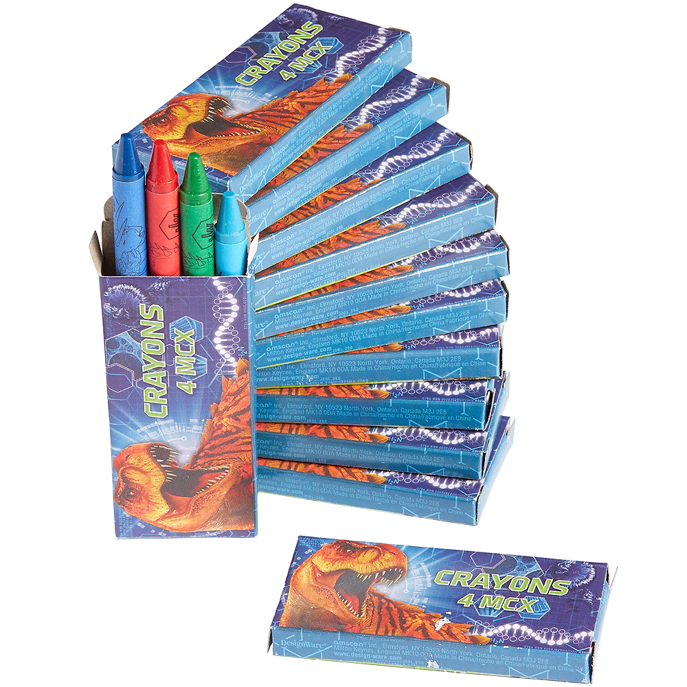 Jurassic World Crayon Boxes 12ct Image #1