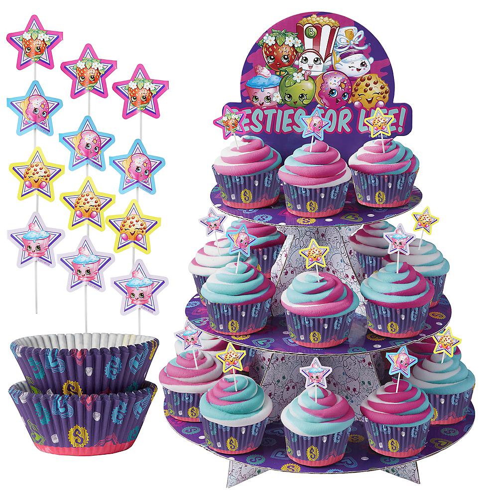 Shopkins Cupcake Kit for 24 Image #1