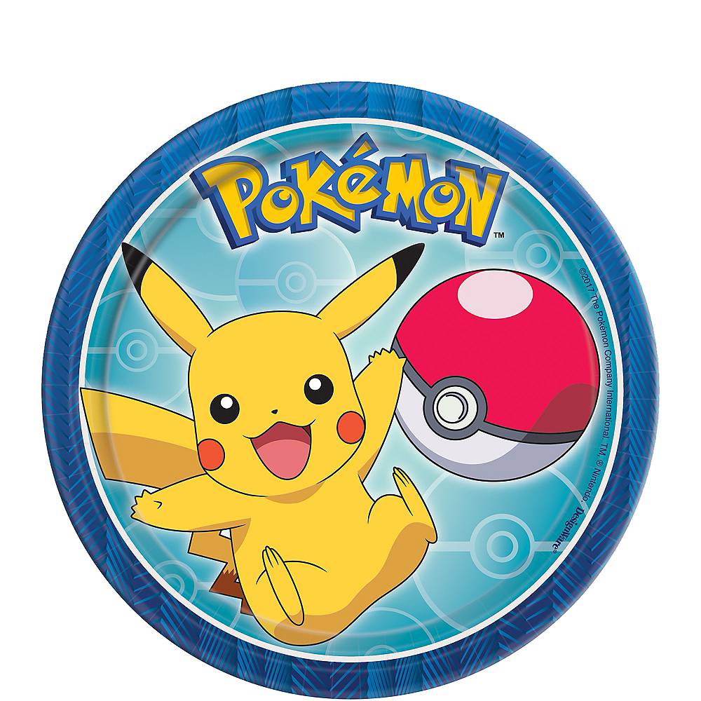Pokemon Core Dessert Plates 8ct Image #1