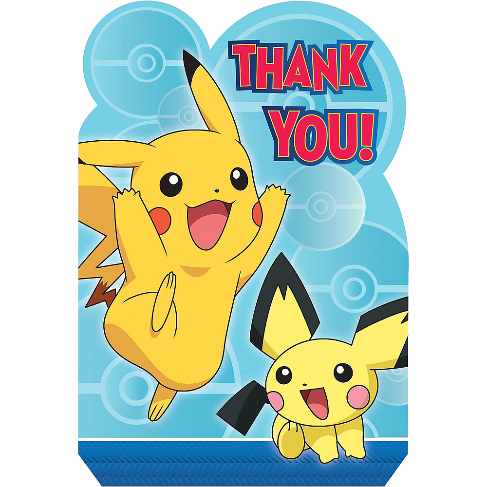 Pokemon Core Thank You Notes 8ct Image #1
