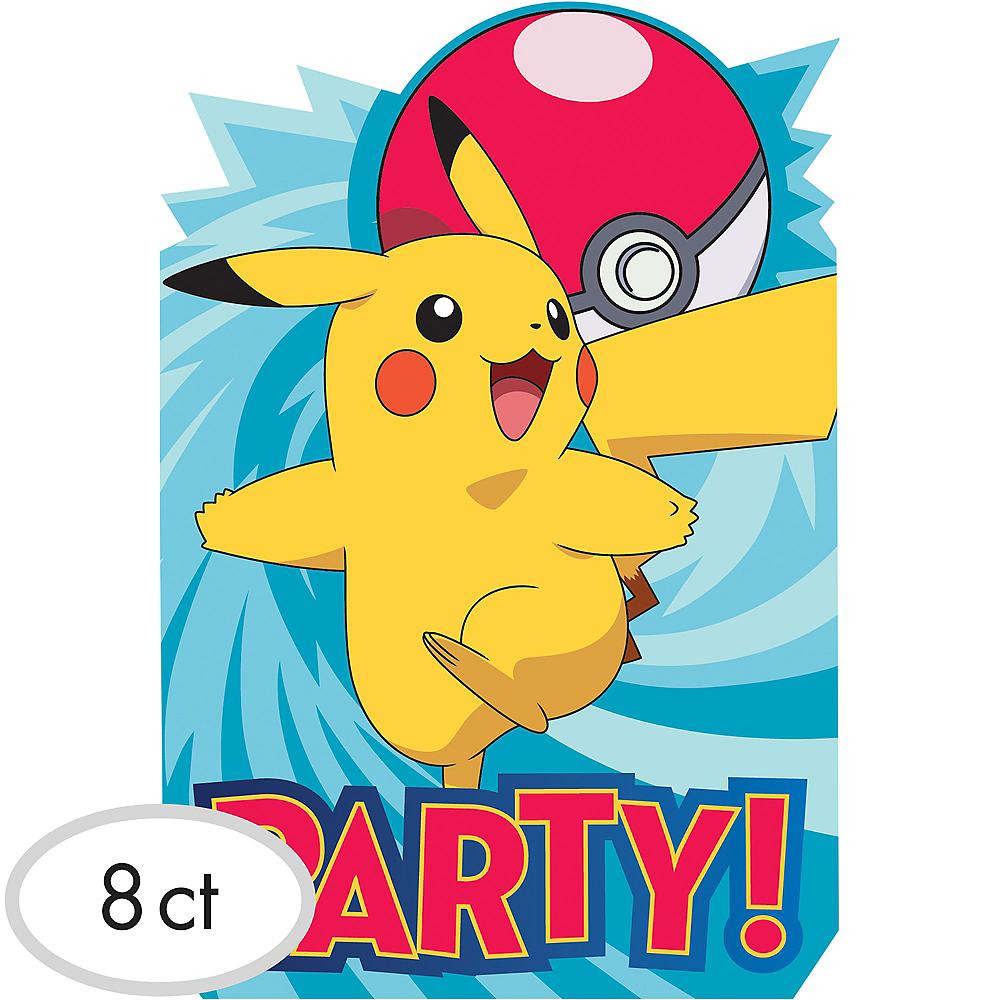 pokemon core invitations 8ct party city