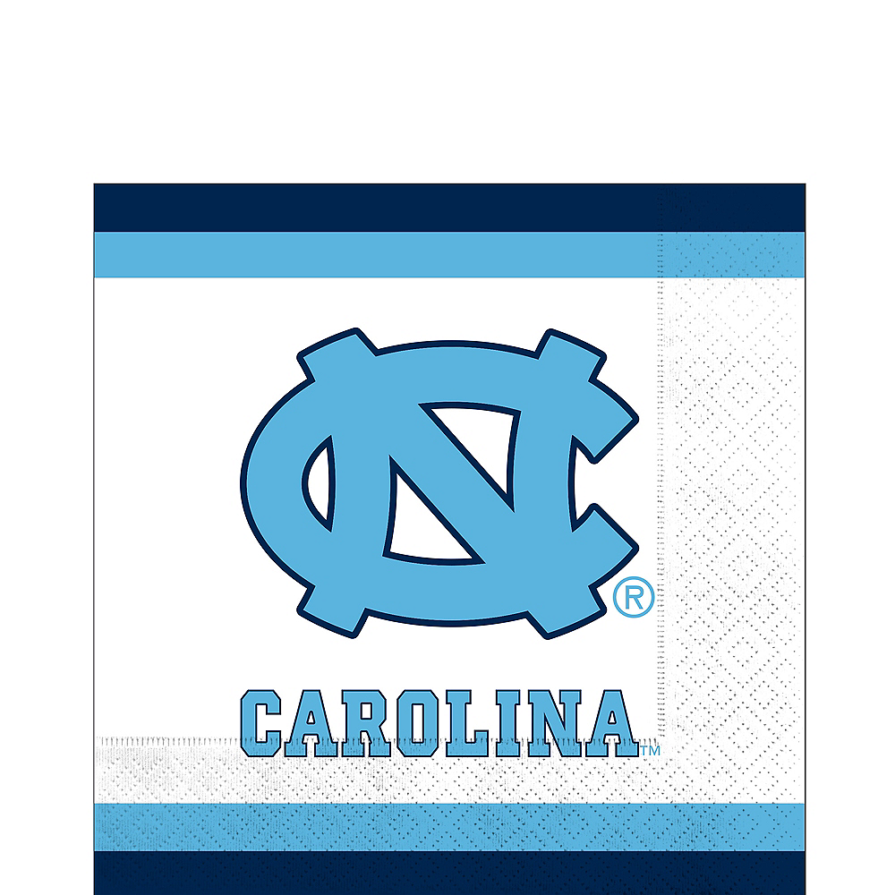 North Carolina Tar Heels Lunch Napkins 20ct Image #1