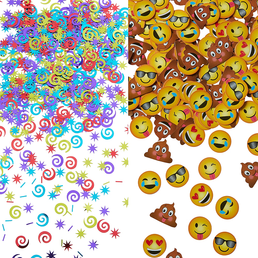 Nav Item for Smiley Face Confetti Image #1