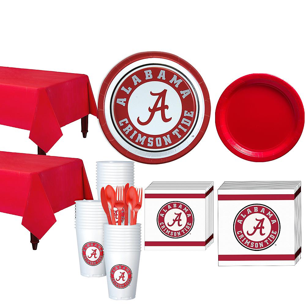 Alabama Crimson Tide Party Kit for 40 Guests Image #1