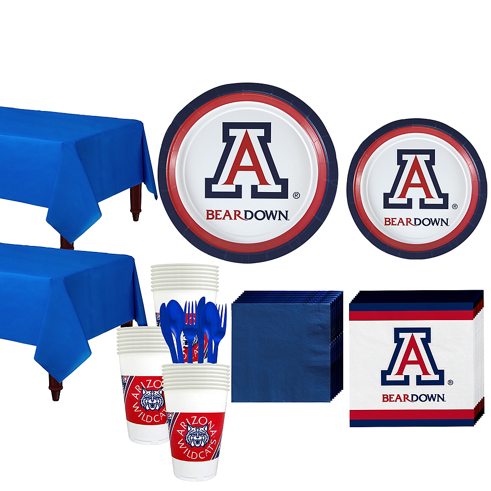 Arizona Wildcats Party Kit for 40 Guests Image #1