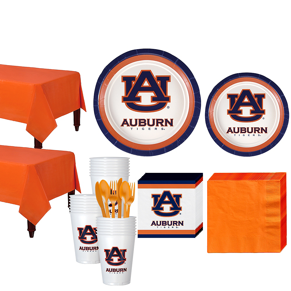 Auburn Tigers Party Kit for 40 Guests Image #1