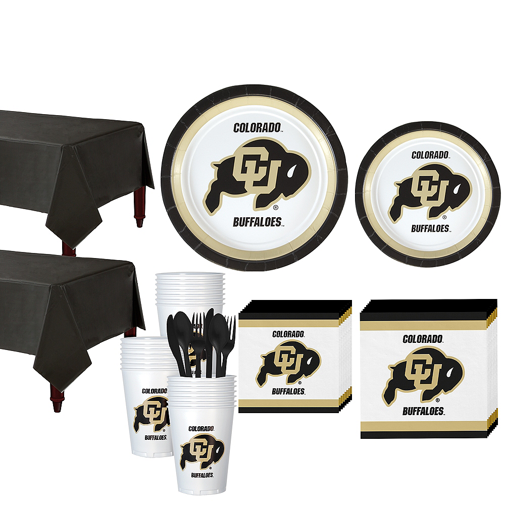 Colorado Buffaloes Party Kit for 40 Guests Image #1