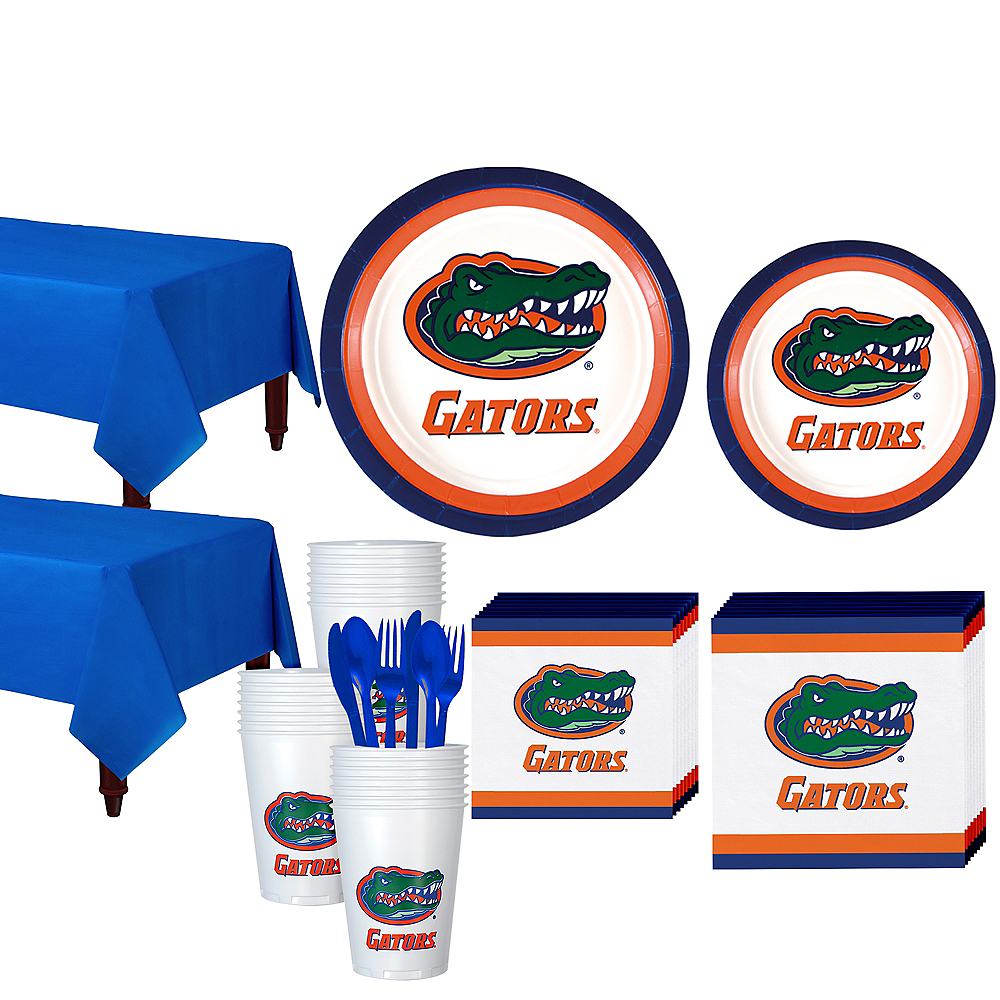 Florida Gators Party Kit for 40 Guests Image #1