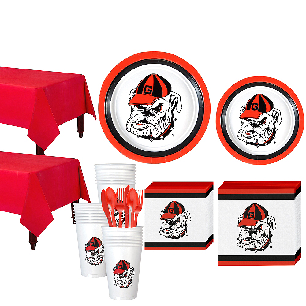 Georgia Bulldogs Party Kit for 40 Guests Image #1