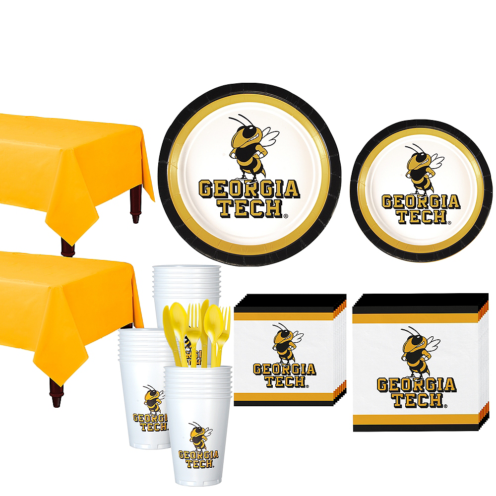 Georgia Tech Yellow Jackets Party Kit for 40 Guests Image #1