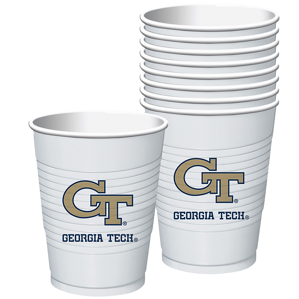 Georgia Tech Yellow Jackets Party Kit for 40 Guests Image #6