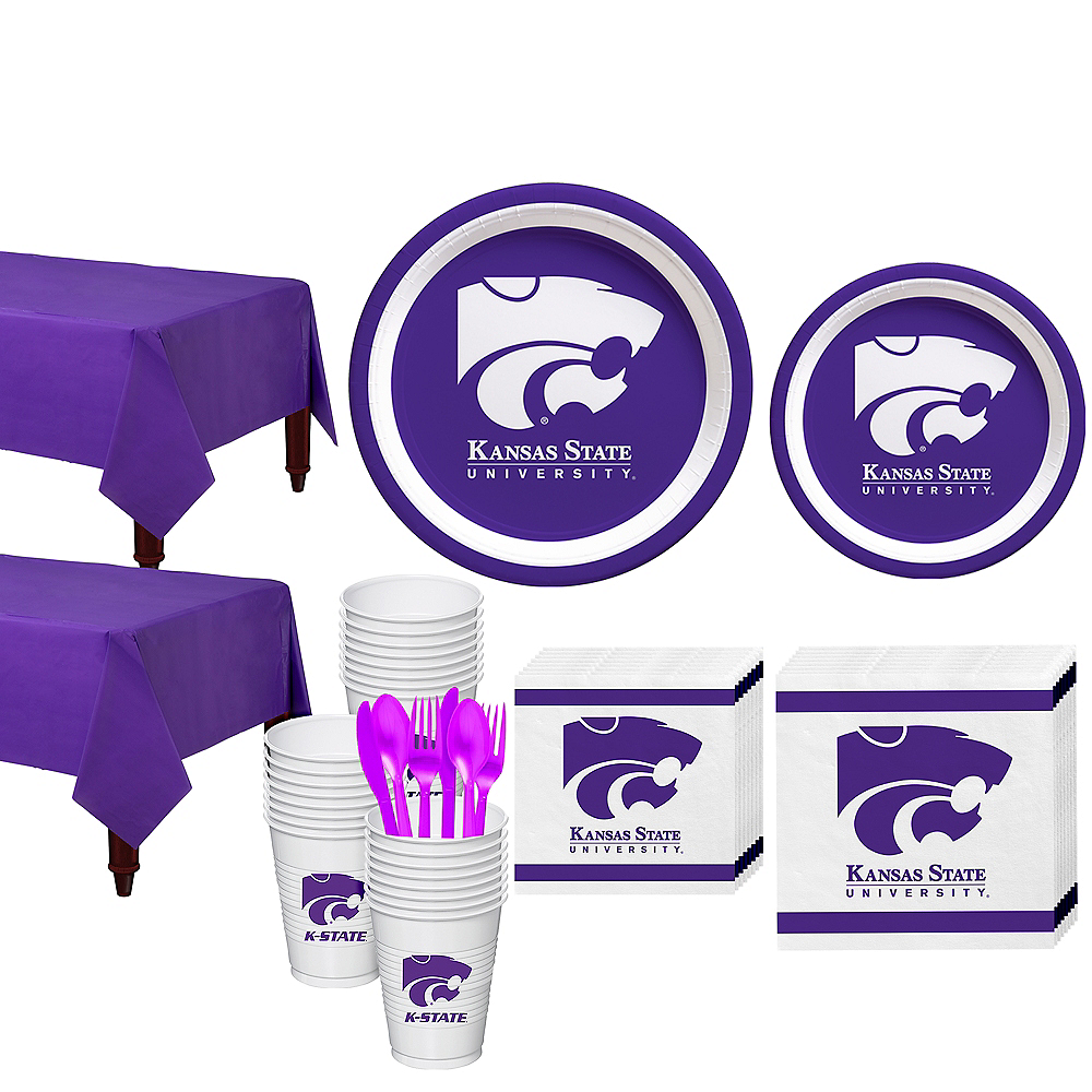 Nav Item for Kansas State Wildcats Party Kit for 40 Guests Image #1