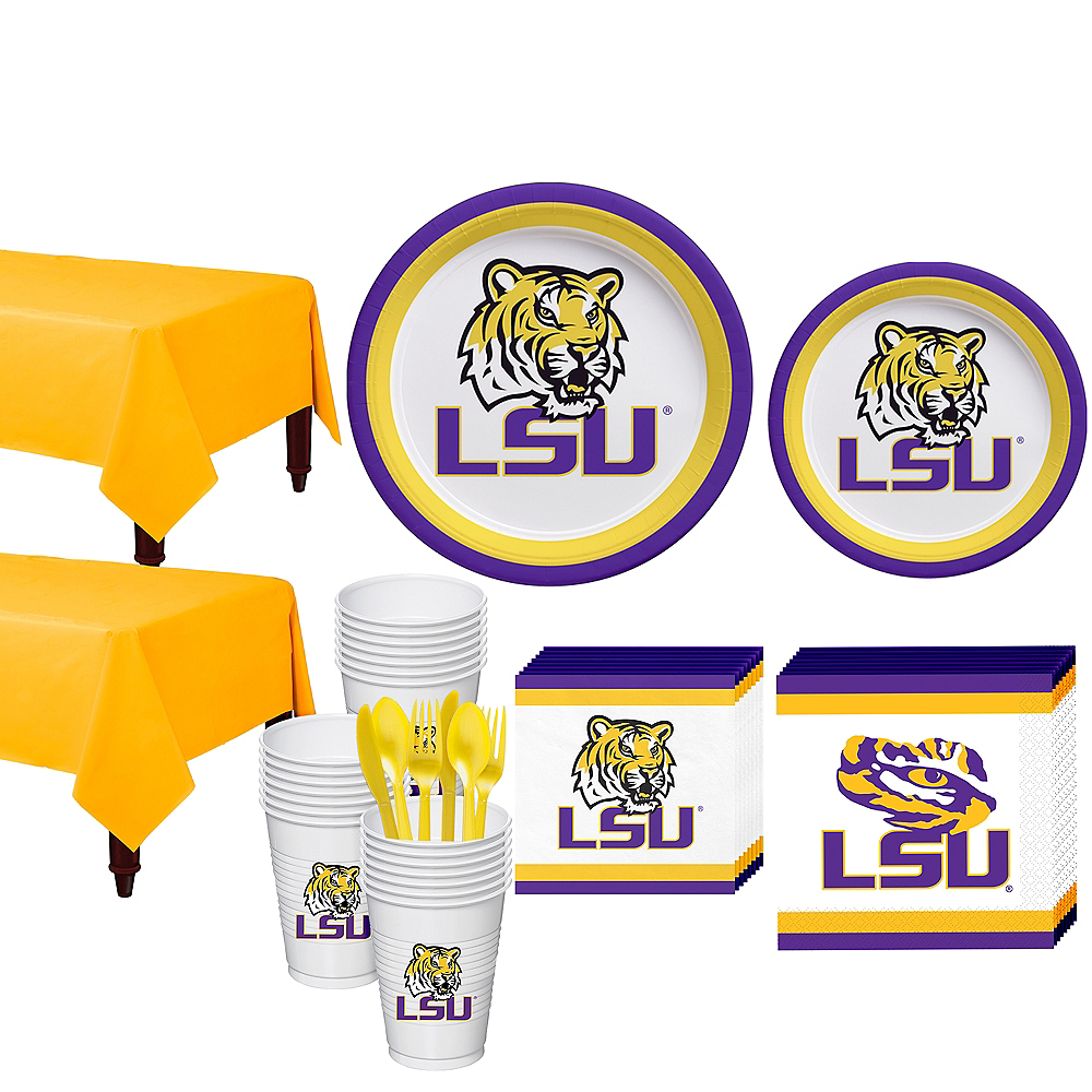 Louisiana State Tigers Party Kit for 40 Guests Image #1