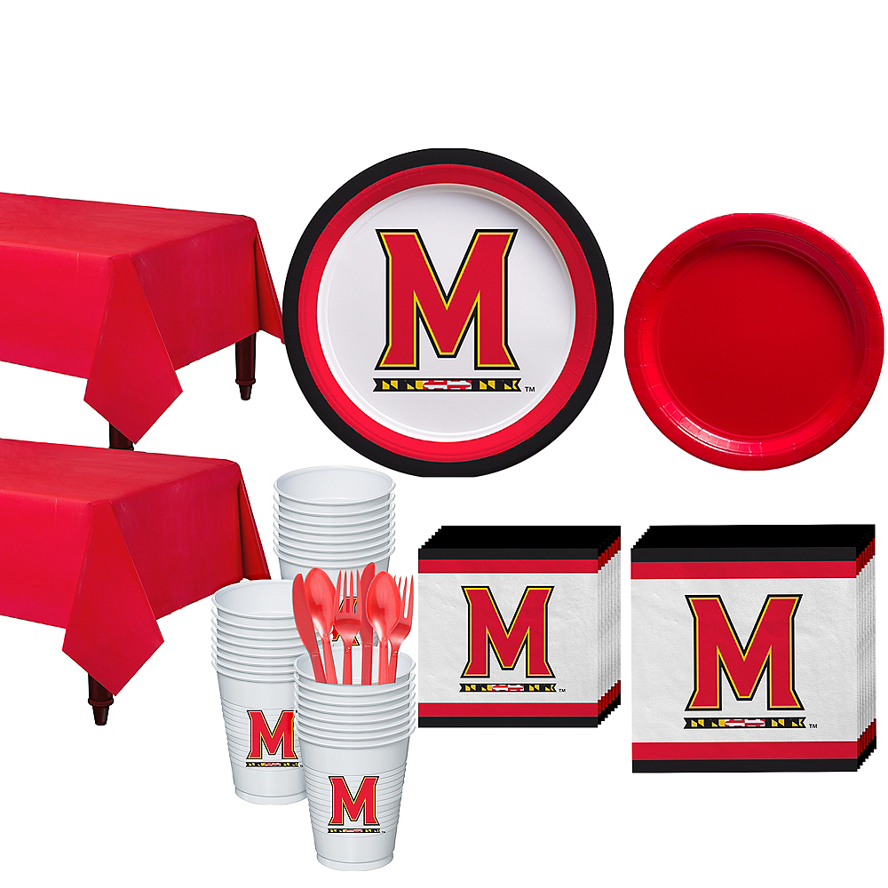 Maryland Terrapins Party Kit for 40 Guests Image #1