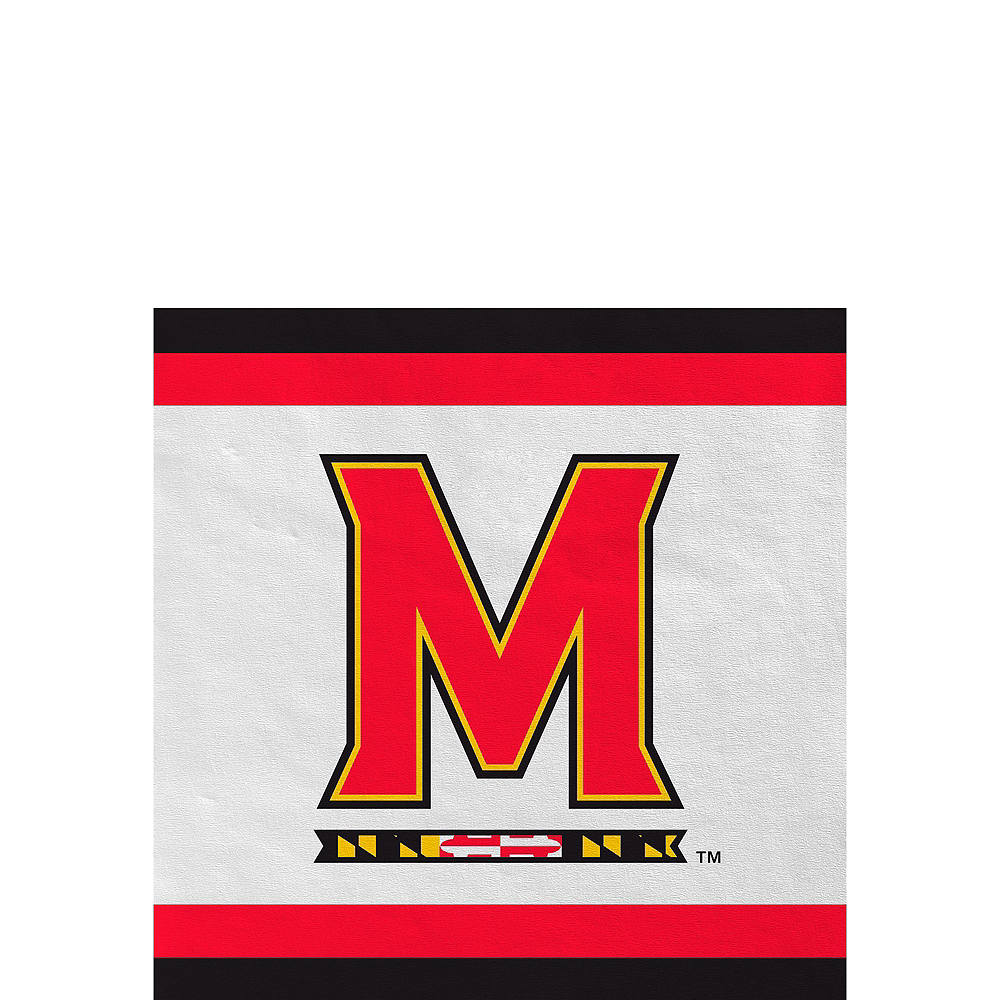 Maryland Terrapins Party Kit for 40 Guests Image #4