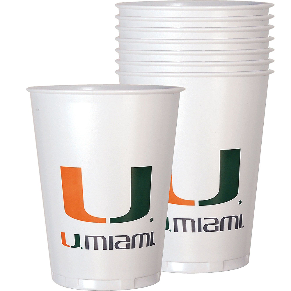 Miami Hurricanes Party Kit for 40 Guests Image #6
