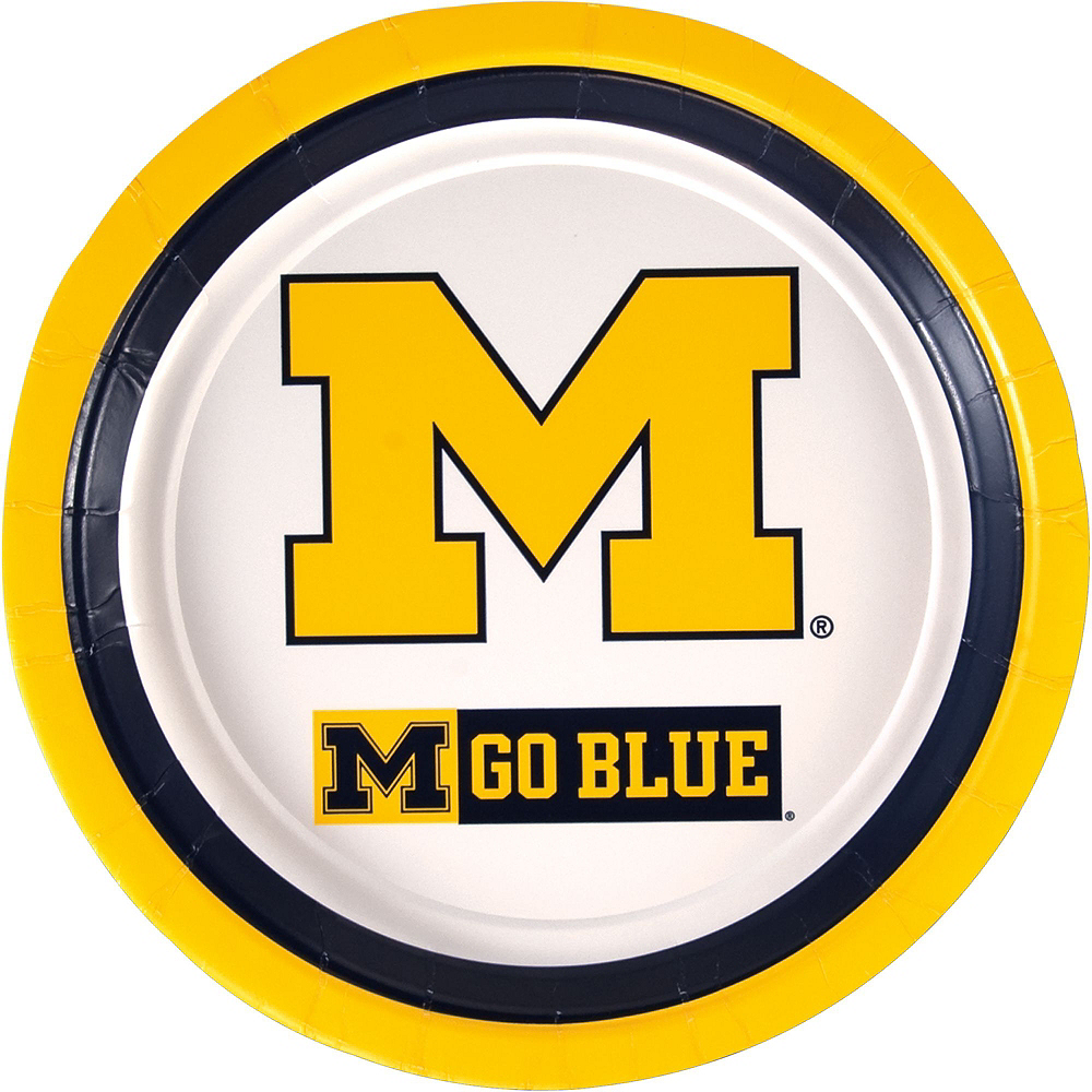 Michigan Wolverines Party Kit for 40 Guests Image #3