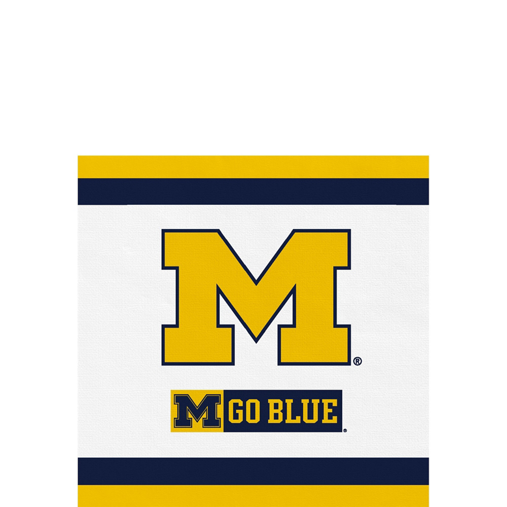 Michigan Wolverines Party Kit for 40 Guests Image #4