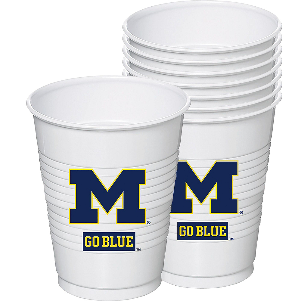 Michigan Wolverines Party Kit for 40 Guests Image #6