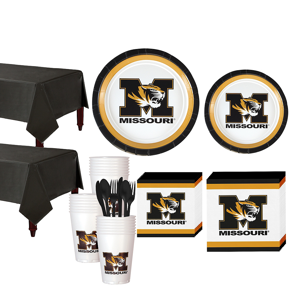 Missouri Tigers Party Kit for 40 Guests Image #1
