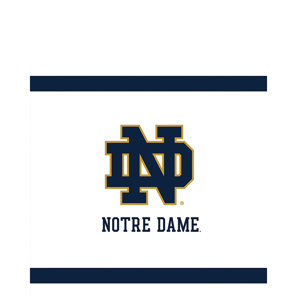 Nav Item for Notre Dame Fighting Irish Party Kit for 40 Guests Image #5