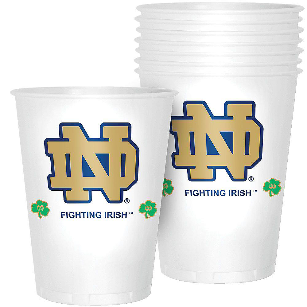 Nav Item for Notre Dame Fighting Irish Party Kit for 40 Guests Image #6