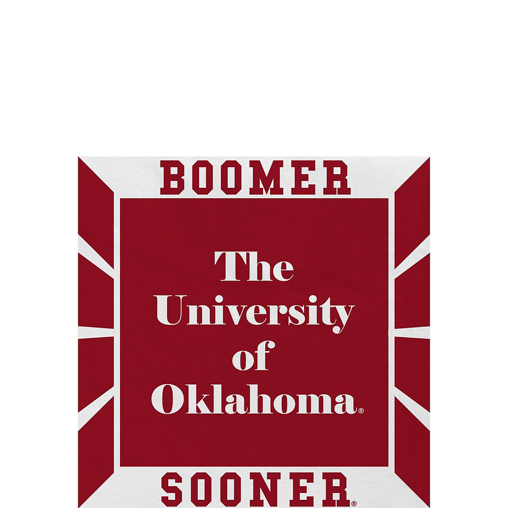 Nav Item for Oklahoma Sooners Party Kit for 40 Guests Image #4